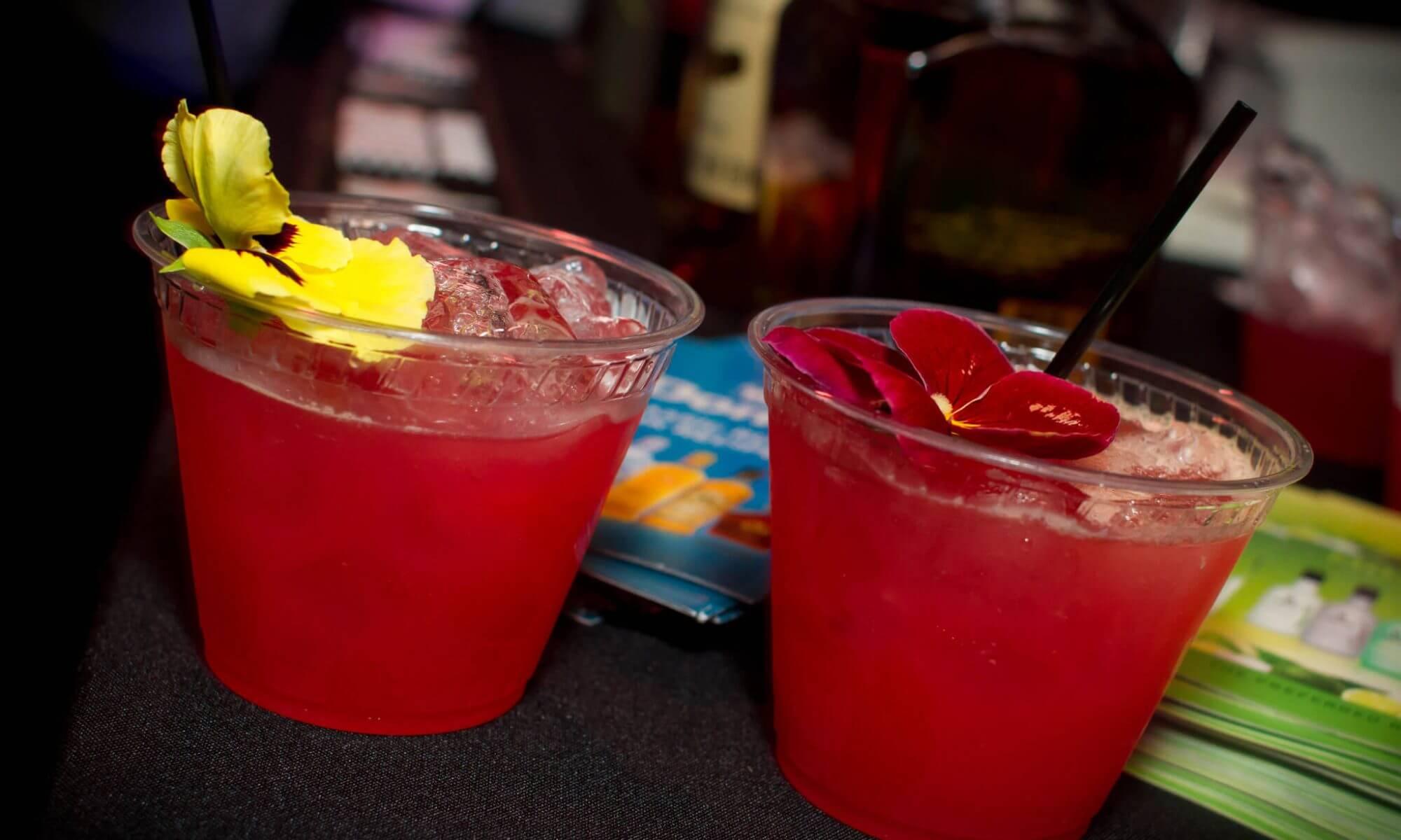 Bebida de rosa