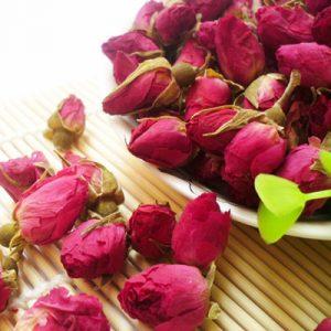 capullos de rosa para infusión