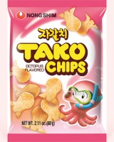 Pulpitos coreanos Tako Chips