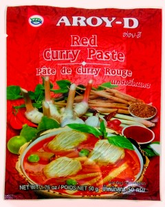 Curry rojo thai
